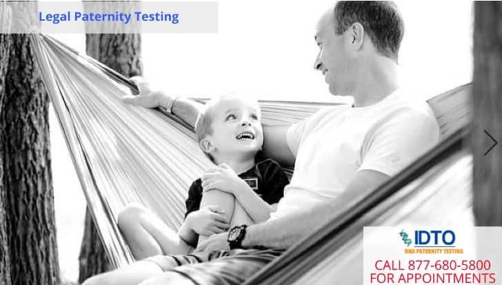 legal paternity test idto